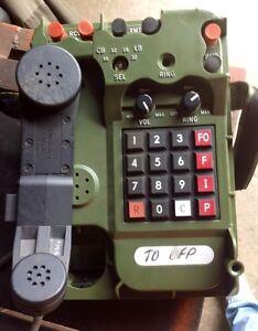 MILITARY FIELD PHONE - TA-1042 A/U -BRAND NEW