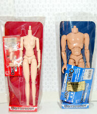 MALE + FEMALE OBITSU BODIES new in package extra hands Fists, neck adjusters
