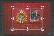 ST KITTS 2011 ROYAL ENGAGEMENT MINISHEET SG,MS1041 U/M N/H LOT 1315B