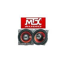 """MTX haut-parleurs tr404 Terminator 4 """" 10cm 2 voie coaxial haut-parleurs 160 w inc grilles"""