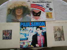 5 Lot Paul Simon 1970's-'80s Pop Rock Music Record Albums Crazy Hearts Rhymin'