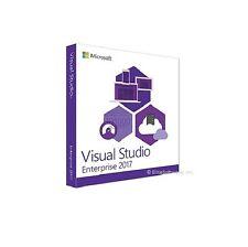 Microsoft Visual Studio 2017 Enterprise | Full Retail Media |