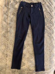 Mayoral Girl jodphur style navy leggins T/12