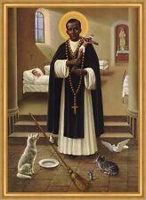 Heiliger Bruder Martin von Porres Dominikaner Peru Lima St. LW Sankt A1 0134
