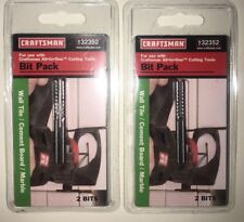 Craftsman 9-32352 All-In-One Tool Bit Pack  cutting ceramic tile marble (2 pack)