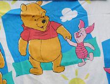 Disney Winnie the Pooh Piglet Top Flat Sheet Pillow Case Material Fabric