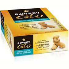 Raw Rewolution Glo Bar Creamy Peanut Butter and Sea Salt - 12 x 1.6 Ounce Bars