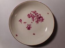 Coupe ancienne porcelaine allemande Saxe Meissen 18 19 siècle épées croiséess