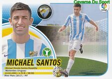 16 MICHAEL SANTOS URUGUAY MALAGA.CF CA.RIVER PLATE STICKER LIGA 2017 PANINI