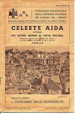 mx 01 1935 - TRIESTE - CELESTE AIDA ovvero GLI ULTIMI GIORNI DI CITTAVECCHIA