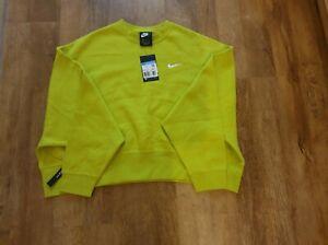 Nike Sportswear  Women's Fleece Crew Sweatshirt Ck0168-308 size UK M EU38 US 8
