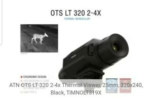 ATN OTS LT 160x120 4-8 Thermal Monocular Outdoor Device Video