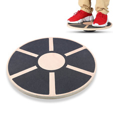 Professional Fitness Balance Board Wooden Wobble Yoga Pilate Training Disc Gym