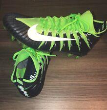 bd29c9b61 Nike Alpha Menace Elite TD Football Cleats Size 15 Navy Blue Green  877140-314