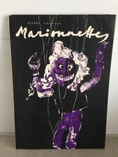 PIERRE GAUCHAT /MARIONETTES /OUVRAGE IN-FOLIO/ 9 LITHOGRAPHIES (mourlot)/1950