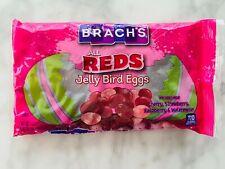 Brach's All Red Jelly Bird Eggs Strawberry Cherry Raspberry Watermelon 14oz Bag