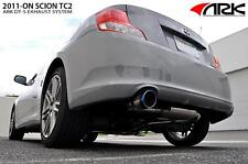 2011-2013 Scion tC ARK DT-S Premium Catback Exhaust Muffler System - Burnt Tip