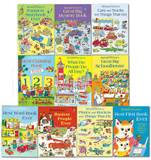 Richard Scarrys Best Collection Ever 10 Books Set Children School Reading Books