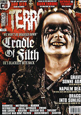 TERRORIZER #229 CRADLE OF FILTH Napalm Death GOD SEED Darkthrone ANTHRAX @New@