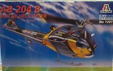 Italeri 1/72 AB 204 B Rescue Helicopter Version Of Huey Model Kit 1201