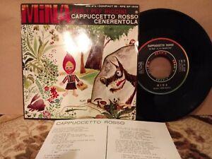 MINA PER I PIU PICCIN-CAPPUCCETTO ROSSO/CENERENTOLA-EP 33 GIRI RIFI-VERY RARE!!!