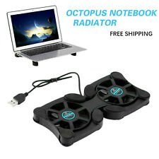 Mini Notebook Cooling Fan Computer Cooler Pad Stand For 14 Inch Laptop Foldable