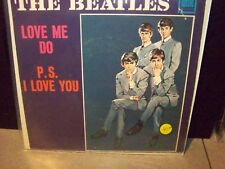 """THE BEATLES """"LOVE ME DO B/W P.S. I LOVE YOU"""" U.S. TOLLIE 7"""" WITH PIC SLEEVE"""