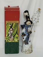 "Christmas Collection by Lincolnshire Snowman Nightlight 16"" Tall Plug In EUC"