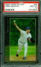 2005 Topps Gallery Baseball #89 GREG MADDUX Cubs (HOF) PSA 10