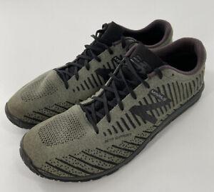 New Balance Men's Size13 Minimus Meta Support Vibram Sole Green Black Shoes