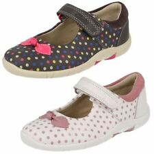 Leather Upper Summer Hook & Loop Fasteners Shoes for Girls