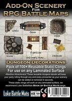 Loke Add-On Scenery for Loke RPG Tabletop Battle Mats - Dungeon Decorations
