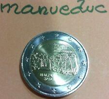 manueduc  2  EUROS  MALTA  2016  GGANTIJA  Conmemorativa  Nueva
