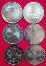* SLOVENIA 2014 + LOTTO PAESI VARI  TOTALE 6 MONETE   2 EURO  LEGGI OFFERTA