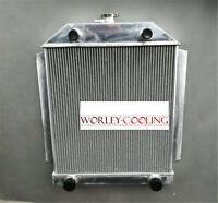 Aluminum Radiator Ford FOR Car Flathead V8 Engine MT 1949-1953 1950 1951 1952