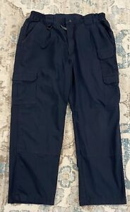 PROPPER Navy Blue Uniform Cargo Rip-Stop Pants Size 40 X 30