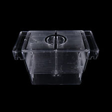 Fish Breeding Isolation Aquarium Hatchery Breeder Fish Incubator Box Tank PB