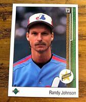 1989 Upper Deck #25 Randy Johnson RC - Expos NM