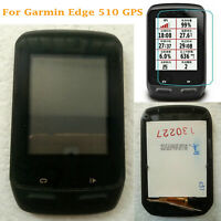 For Garmin Edge 510 GPS LCD Display Touch Screen Digitizer Glass Assembly &Frame