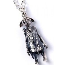 Official Licensed Harry Potter Sterling Silver Dobby the Elf Pendant Necklace