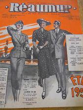 Catalogue reaumur année 1951 ( ref 14 )
