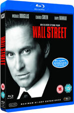 Blu Ray WALL STREET. Michael Douglas, Charlie Sheen. New sealed.