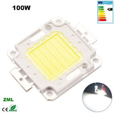 100W LED Chip COB Bulb Beads Cool White SMD 12V-36V High Power for floodlight