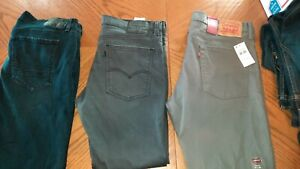 Jeans Lot Size 36 levi and others 4 pairs