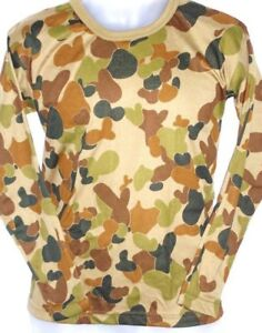 T Shirt - Auscam - Tactical Knit Long Sleeve - Army & Military