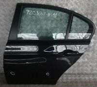 BMW 3 Series 11 E90 E90N Door Rear Left N/S Black Sapphire Metallic - 475