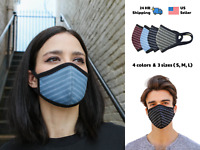 Cloth Face Mask Washable Reusable Face Mask with Ergonomic Design Adults & Kids