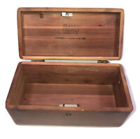Lane Cedar Chest Jewelry Box By Haverty Furniture Made In USA Altavista Va Vtg