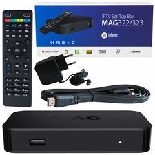MAG 322 IPTV HEVC H.265 Streamer Stalker WEB Internet TV IP HD Receiver Box