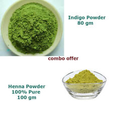 natural hair color - 100% pure Henna and Indigo Powder Combo